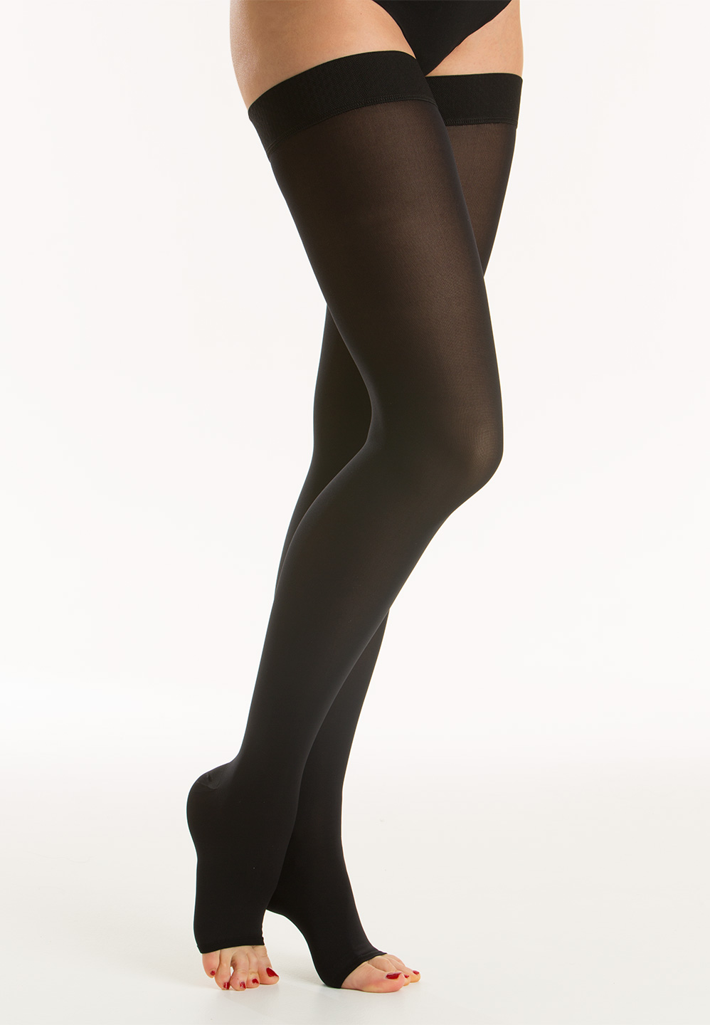 Relaxsan M2070 Cotton medical compression hold up stockings Class 2 23-32 mmHg
